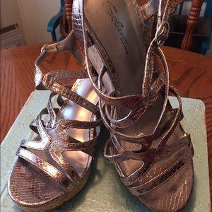 SOLANZ Wedge Sandals